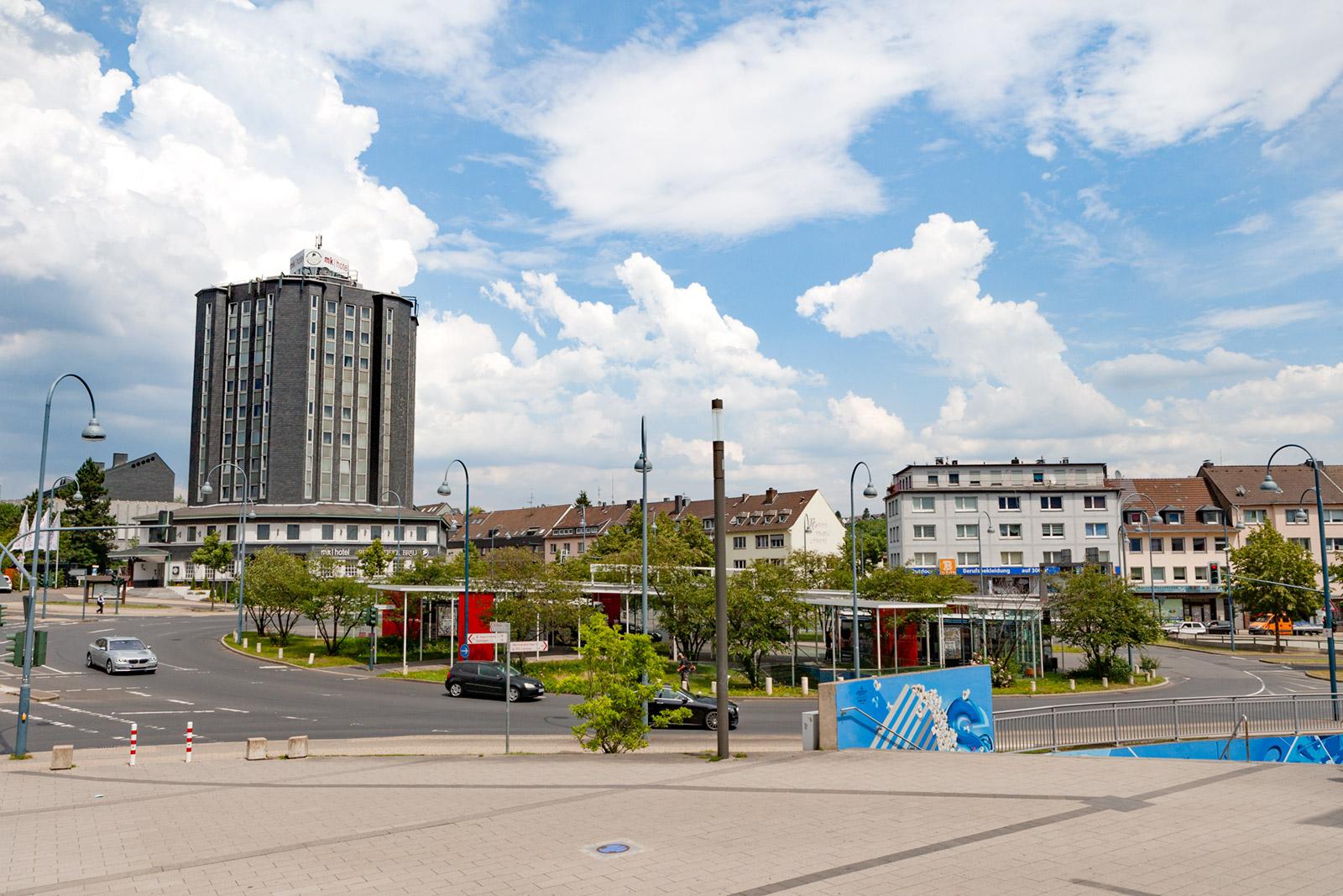 neue Bushaltestelle am Hauptbahnhof für CE 63 – Cityexpress -