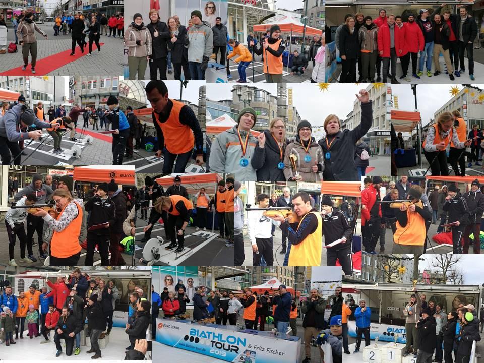 JuWähl wird Dritter bei der 2. Bergischen Biathlonmeisterschaft