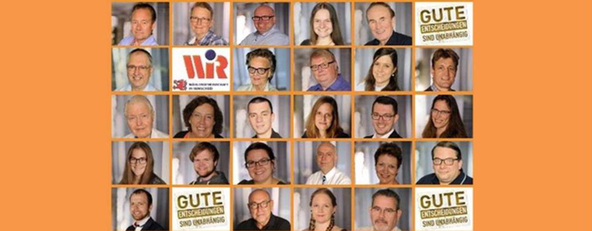W. i. R. stellt Programm für Kommunalwahl 2020 vor