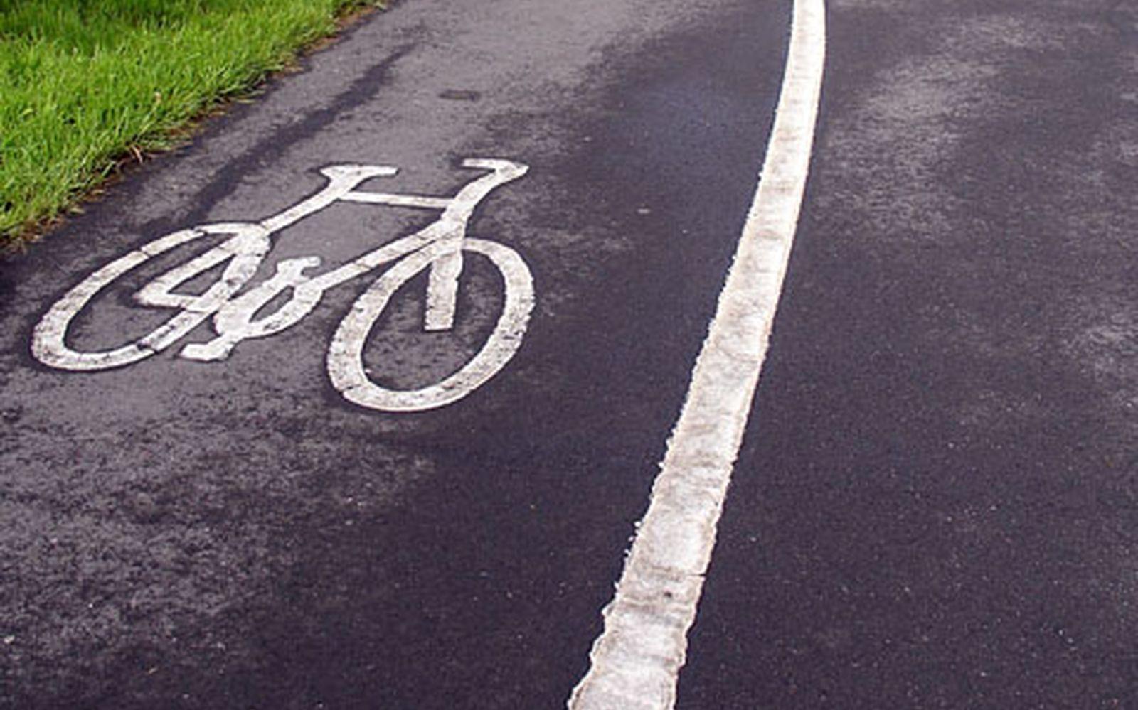 Erste Schutzstreifen für Radfahrer sorgen für Streit