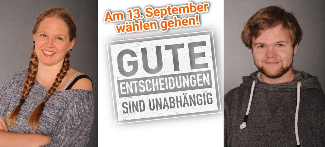Junge Politikerinnen und Politiker in Lüttringhausen und Lennep