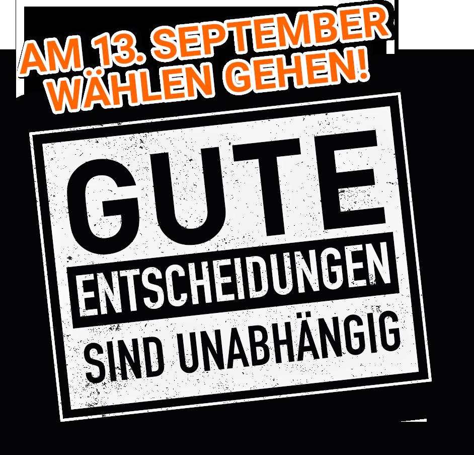 Die Wählergemeinschaft in Remscheid stellte ihr Wahlprogramm vor.
