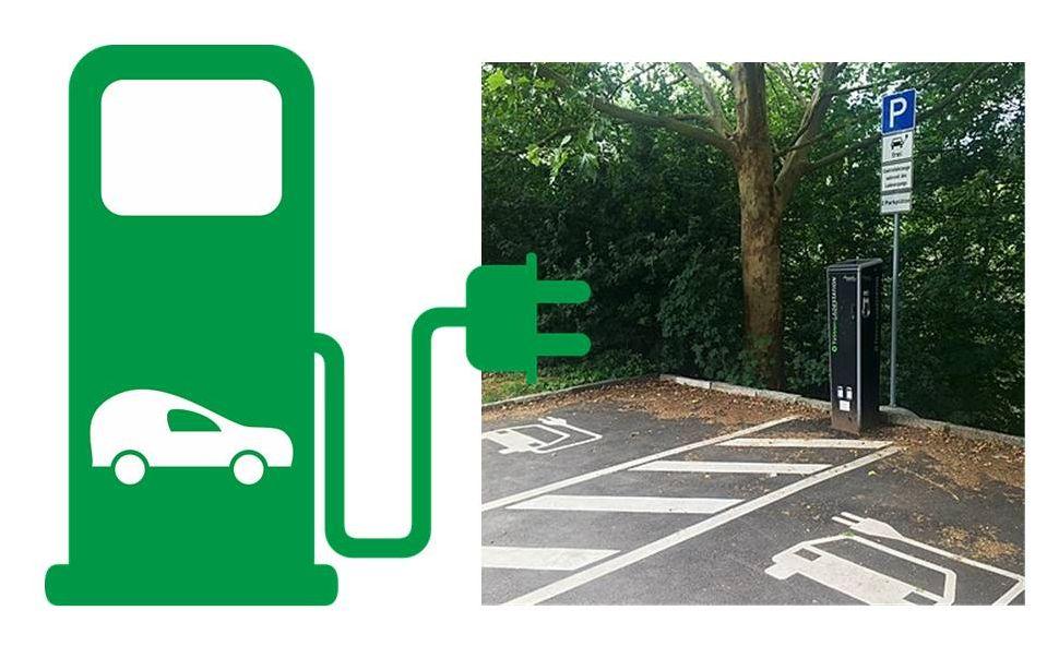 Lade-Infrastrukturkonzept für Elektrofahrzeuge
