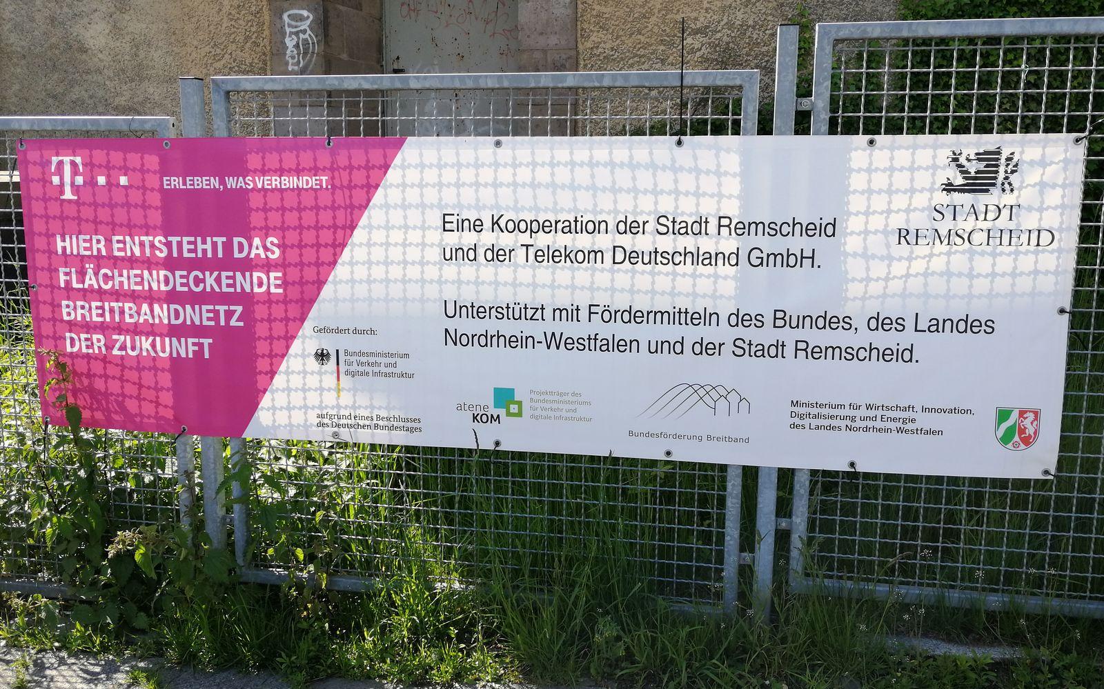 Breitbandausbau in Remscheid