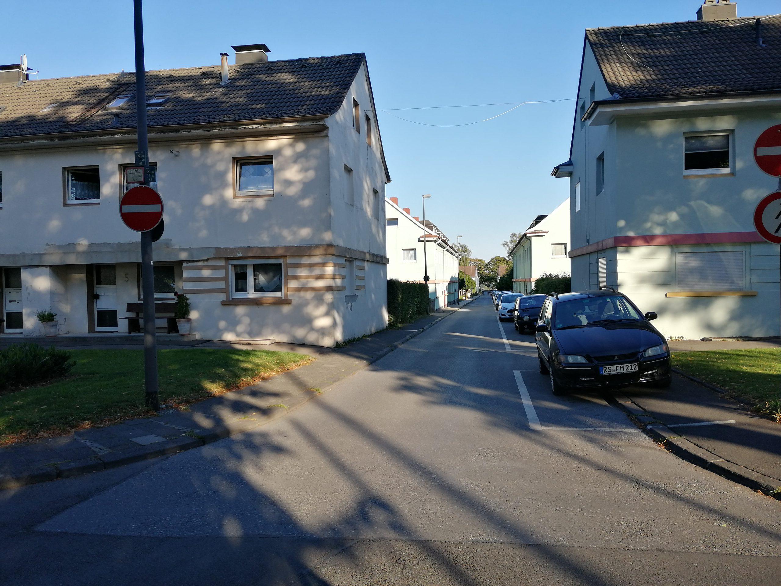 Parkflächenverpachtung in der  Breslauer Straße
