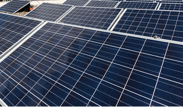Vermietung städtischer Dachflächen für Solarstrom